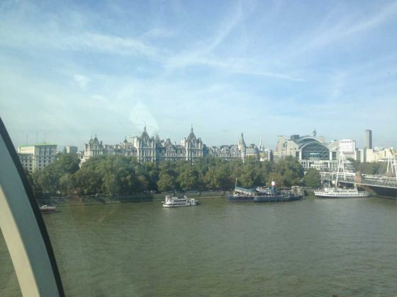 London Eye Scenic Views