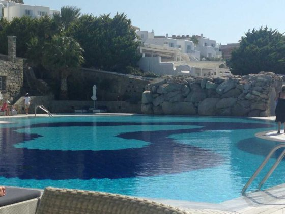 Mykonos Grand Hotel, Saltwater Pool