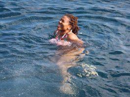 Snorkeling in Santorini Greece