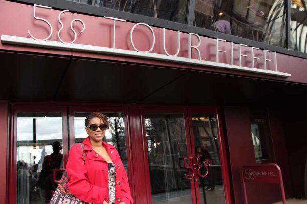 Tour Eiffel • Cultured Black Pearl in Paris