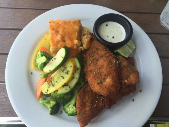 Fresh Catch Fried Grouper Turks and Caicos