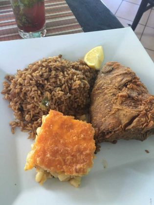 Mr Groupers Fried Snapper