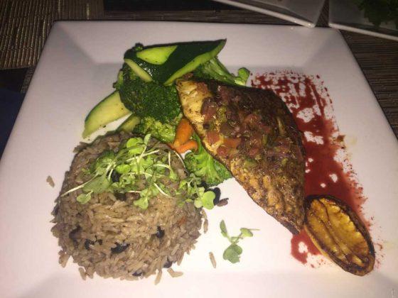 Pelican Bay Fish, Rice, and Veggies