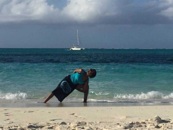 Yoga on the Beach at The Bight Park • Turks and Caicos Islands