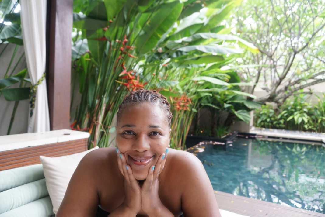Cultured Black Pearl at W Bali Seminyak