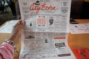 City Extra Menu, Sydney