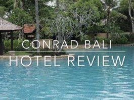Conrad Bali Hotel Review Cultured Black Pearl