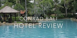 Conrad Bali Hotel Review Cultured Black Pearl