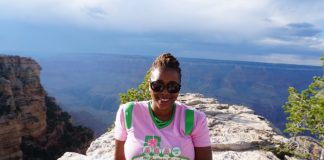 Cultured Black Pearl at Grand Canyon