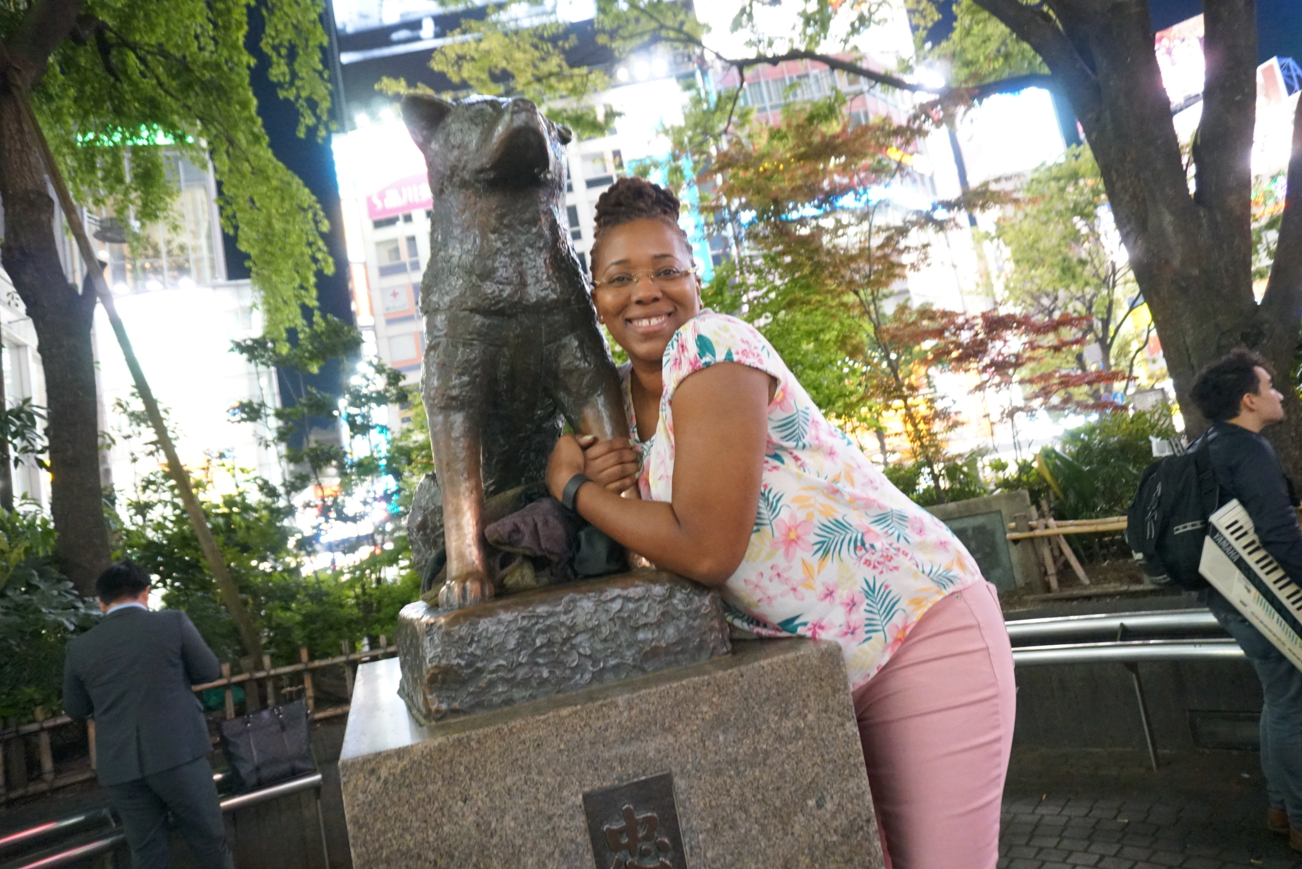 Hachikō Statue Tokyo