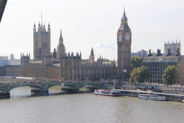 London Eye Big Ben Elizabeth Tower