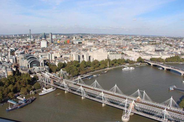 London Eye Jubilee Bridge