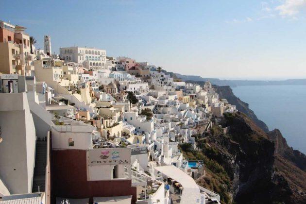 Cliffside Shops, Santorini Greece