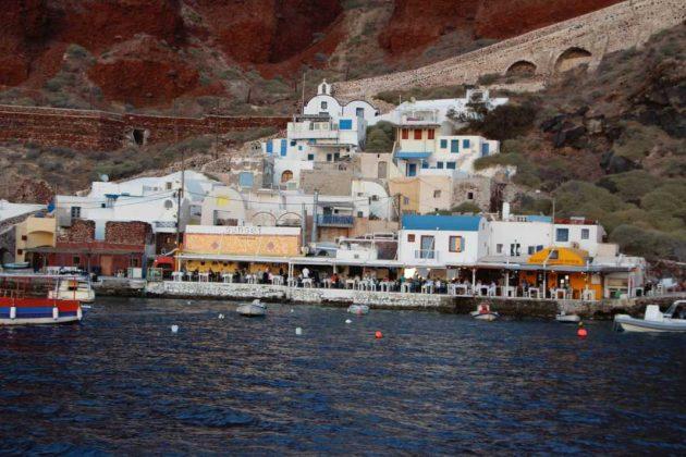 Cruising along the Aegean Sea