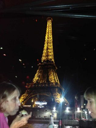 Eiffel Tower from the River Seine Cruise