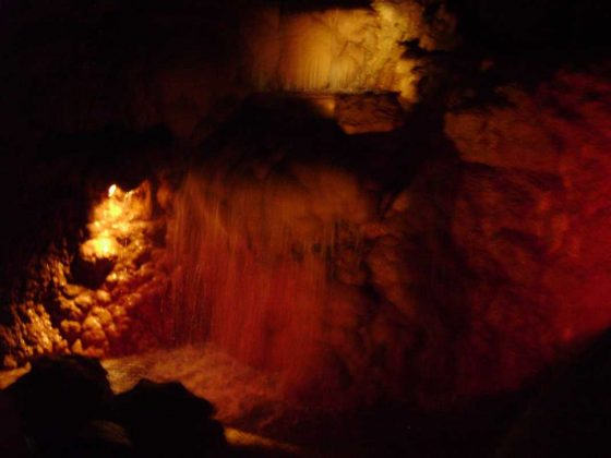 Harrison's Cave Interior