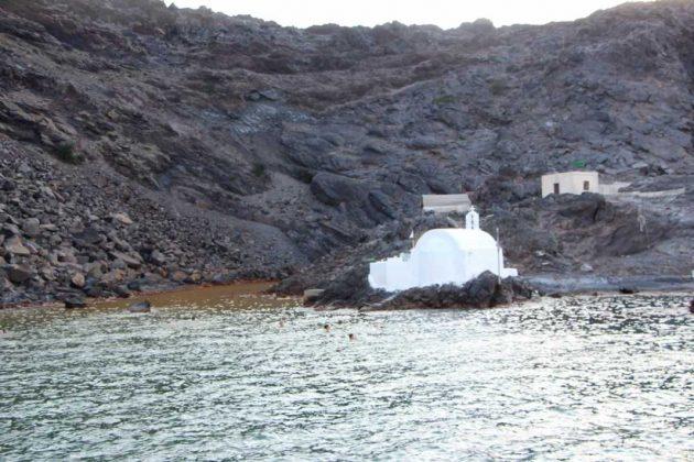 Hot Springs, Nea Kameni