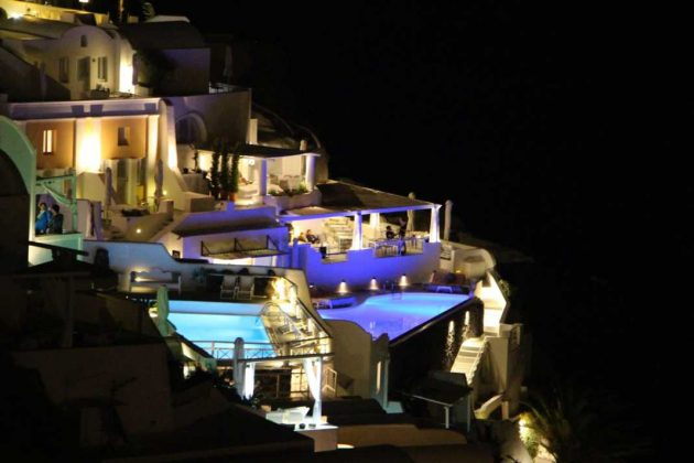 Infinity Pools of Santorini, Greece