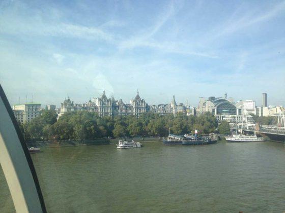London Eye Scenic Views