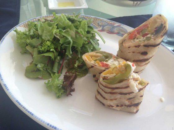 Mykonos Grand Hotel & Resort, Veggie Wrap