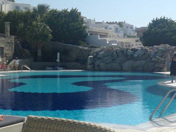 Mykonos Grand Hotel, Saltwater Pool