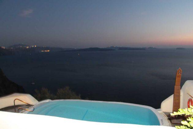 Mystique Hotel Pool: Santorini, Greece