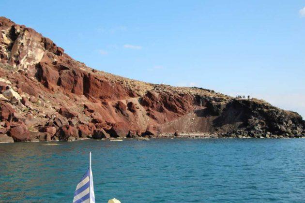 Red Mountains, Santorini
