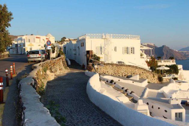Streets of Thira, Greece