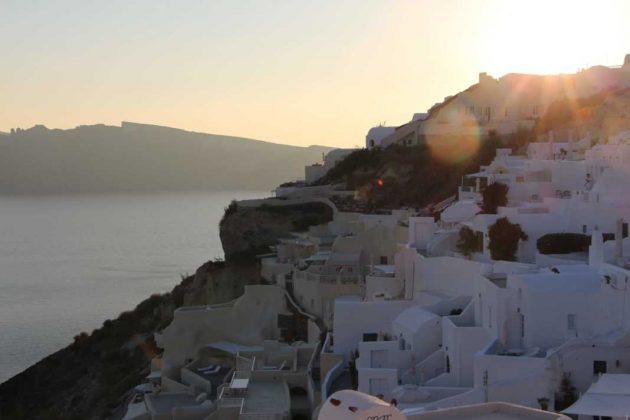 Sunsetting over Mystique Luxury Hotel