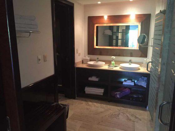 Bathroom at Paradisus Hotel, Punta Cana