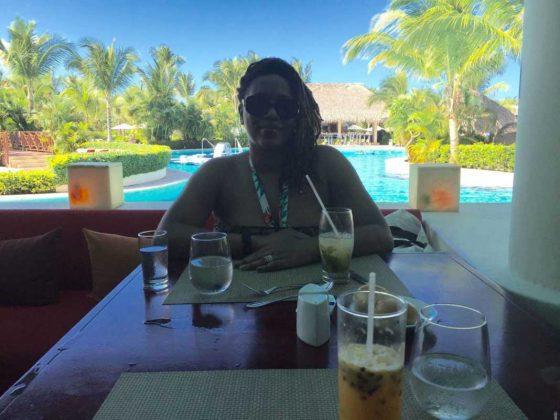 Cultured Black Pearl in Punta Cana, Dominican Republic