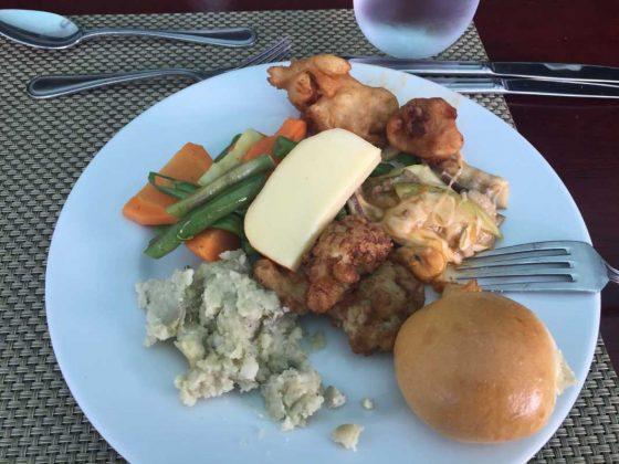 Lunch at Gabi Club, Punta Cana