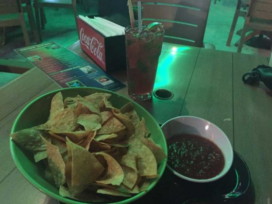 Danny Bouy's Drinks, Chips and Salsa