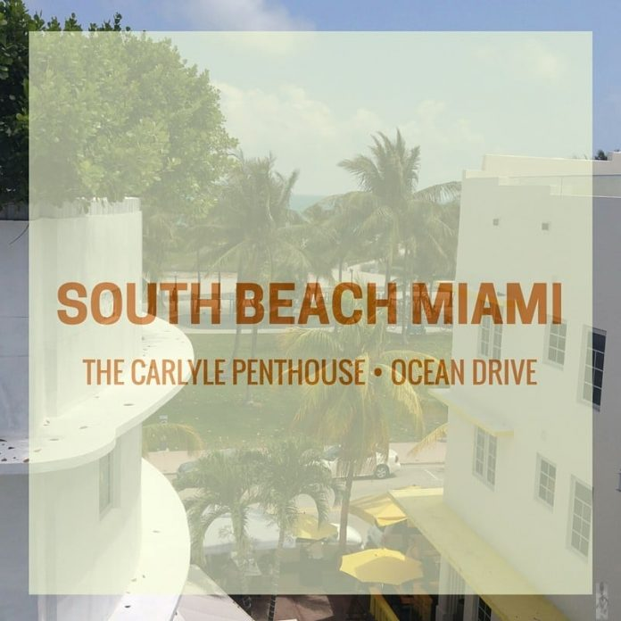 The Carlyle Penthouse South Beach Miami