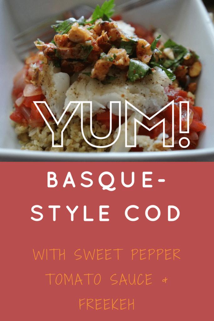 Basque Style Cod