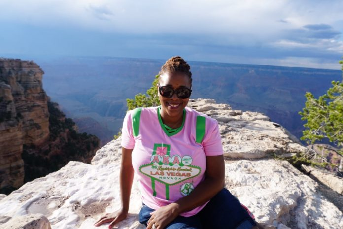 Cultured Black Pearl at Grand Canyon