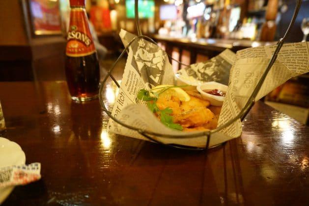 Fish Chips Pub Food