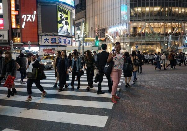 Pedestrian Scramble